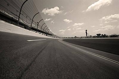 Daytona 500 Photograph - Daytona Beach International Speedway - Florida by Andy Moine