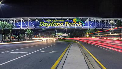 Long Street Digital Art - Daytona Beach by Rob Sellers