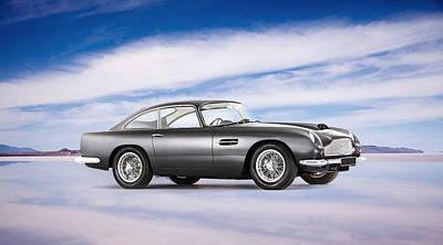 Car Photograph - Db6 Aston Martin by Mark Rogan