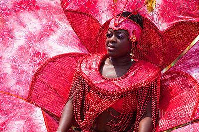 Dc Caribbean Carnival No 18 Print by Irene Abdou