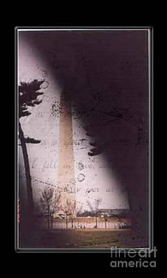 Dc Grunge  Print by Lynn Gettman