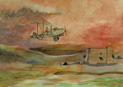 De Havilland Dh9 Original by Ray Agius