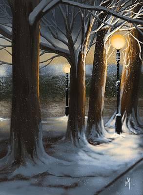 Digital Painting - Dead Of Night by Veronica Minozzi