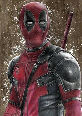 Deadpool Original by Svetlana Drobakhina