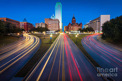 Dallas Photograph - Dealy Plaza by Inge Johnsson