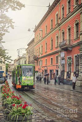 Eastern Europe Photograph - Dear Hometown by Evelina Kremsdorf