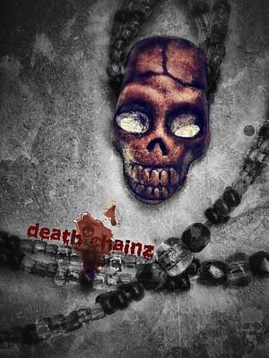 Manipulation Photograph - Death Chain by Eddie G