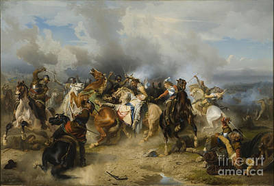 Adolf Painting - Death Of King Gustav II Adolf by Celestial Images