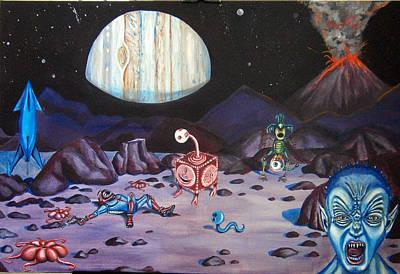 Death On Io Print by Chris Benice