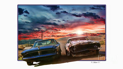 Death Proof Digital Art - Death Proof by Andrew Vougazianos