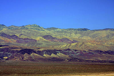 Mountain Range Photograph - Death Valley - Land Of Extremes by Christine Till