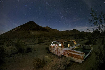 Star Valley Photograph - Death Valley Drive-in by Sean Foster