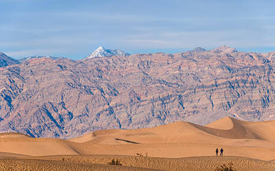 Death Valley Layers Print by Joseph Smith