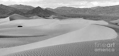 Death Valley Panoramic Sand Dunes Print by Adam Jewell