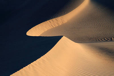 Death Valley Sand Design Print by Pierre Leclerc Photography