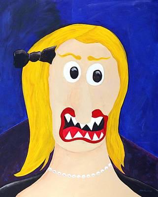 Funism Painting - Debutante by Sal Marino