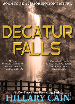 Book Jacket Design Photograph - Decatur Falls Book Cover by Mike Nellums