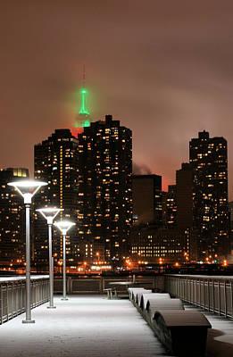 New York City Skyline Photograph - December In New York by JC Findley