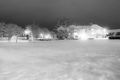 Snowy Night Photograph - December Time by Svetlana Sewell