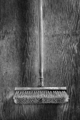 Deck Scrub Brush Print by YoPedro