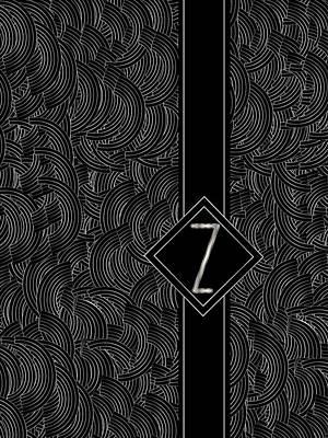 Invitations Digital Art - Deco Jazz Swing Monogram ...letter Z by Cecely Bloom