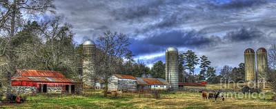 Greensboro Photograph - Dedication Boswell Dairy Farm Greene County Ga by Reid Callaway