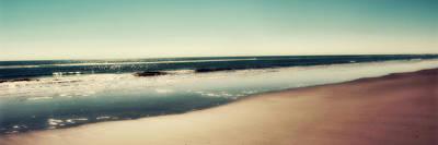 Framed Art Photograph - Deep Blue Sea Panoramic by Amy Tyler
