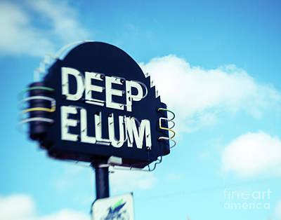 Photograph - Deep Ellum Big D by Sonja Quintero