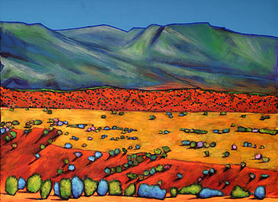 Sagebrush Painting - Deep Shadows by Johnathan Harris