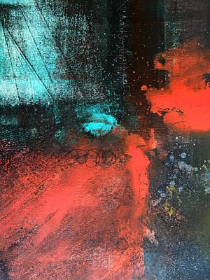 Deep Space Print by Nancy Merkle