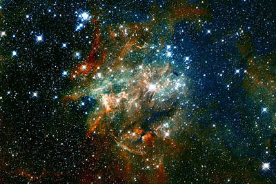 Alien Photograph - Deep Space Star Cluster by The  Vault - Jennifer Rondinelli Reilly