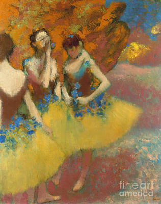 Of Edgar Degas Photograph - Degas: Dancers, C1891 by Granger