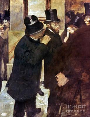 Degas: Stock Exchange Print by Granger