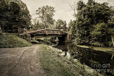 Bucks County Photograph - Delaware Canal by Tom Gari Gallery-Three-Photography