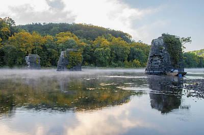 Photograph - Delaware River In Autumn by Bill Cannon