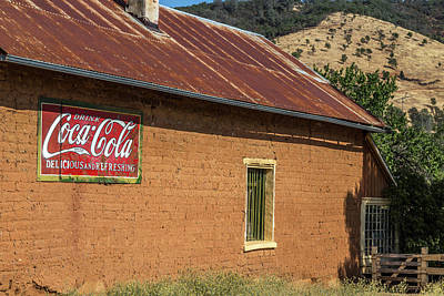Coca Cola Sign Photograph - Delicious And Refreshing by Peter Tellone