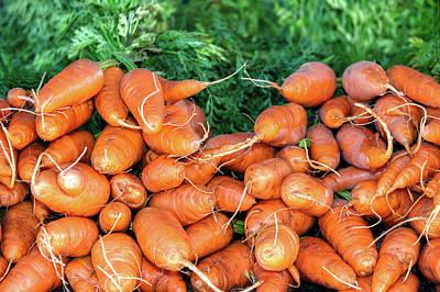 Delicious Carrots Print by Todd Klassy