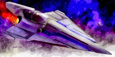 Outer Digital Art - Delta-12 Skysprite  - Free Style -  - Da by Leonardo Digenio