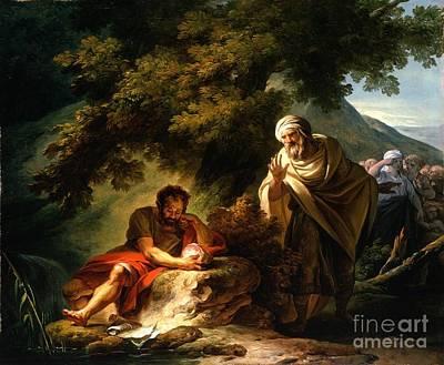 Paris Painting - Democritus Among The Abderitans by Celestial Images
