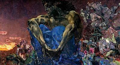 Demon  Original by Mikhail Vrubel