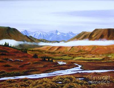 Denali Autumn Print by Mary Rogers