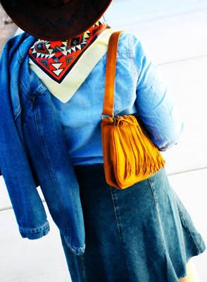 Photograph - Denim Fashion by Gravityx9 Designs