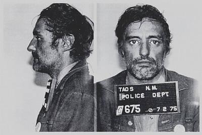 Dennis Hopper Mug Horizontal Original by Tony Rubino