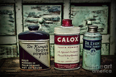 Apothecary Photograph - Dentist - Vintage Tooth Powder by Paul Ward