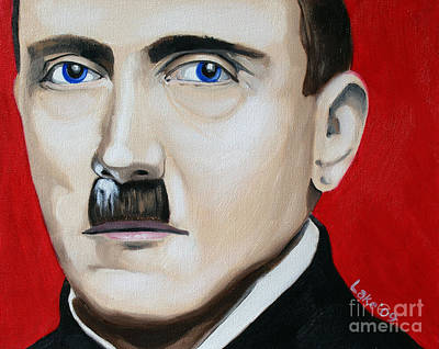 Cocaine Painting - Der Fuhrer's Line by Matthew Lake