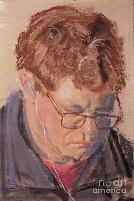 Pastel Portraits Pastel - Derek by Caffey Fielding