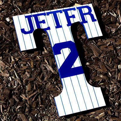 Shortstop Photograph - Derek Jeter by Alexandre Martins