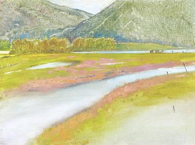 Derr Mountain Marshes Original by Robert Bissett