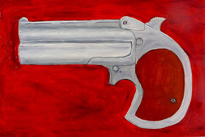 Derringer Print by Patrice Tullai