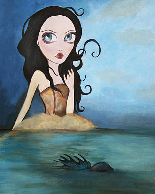 Desdemonia Emerges Print by Dania Piotti